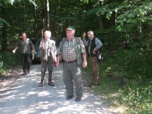 Richtergruppe 1: Roland Krebs, Fritzi Misch, Waldemar Ehrlenbach und Walter Dobner